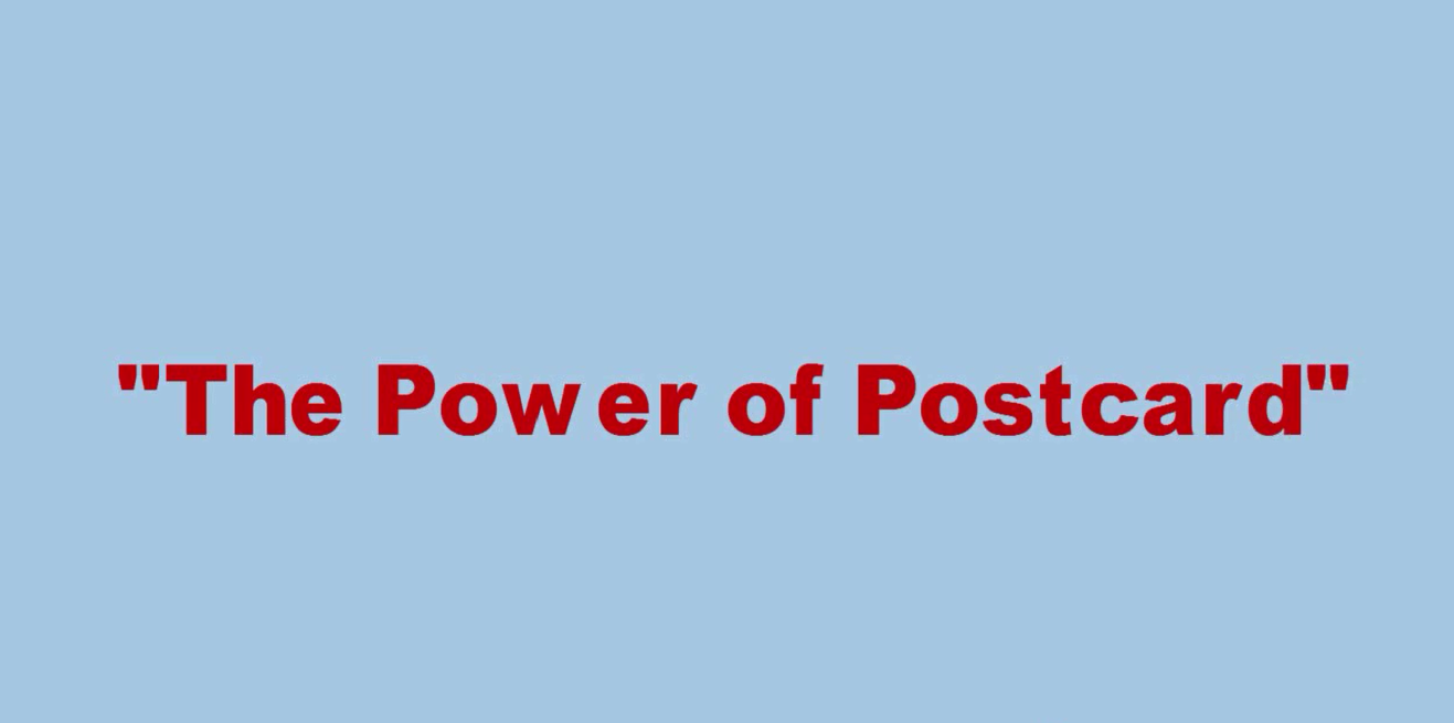 the power of postcard