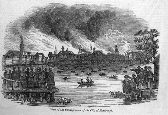 hamburg great fire